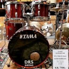 """Tama Superstar 1980'er, Super Mahogany, 12""""x8"""",13""""x9"""",16""""x16"""",22""""x14"""""""