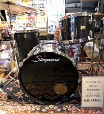 "Slingerland 1963-1964, Black Pearl 13""x9"",16""x16"",22""x14"""